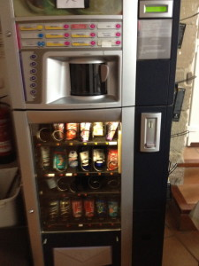 Typical Camino Vending Machine